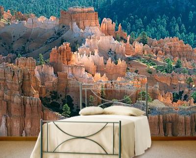 Fairy castle bryce canyon national park ut mural alain for Fairy castle mural